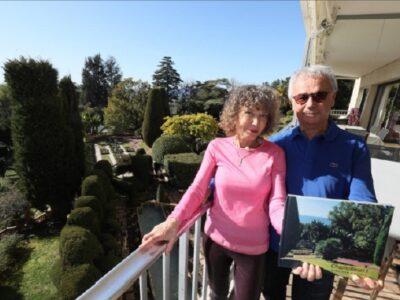 Le couple Sara et Jacky Brajbart-Zajtman a redigé 15 newsletters durant 10 mois, pour le plus grand bonheur des voisins (Photo P. Lapoirie)