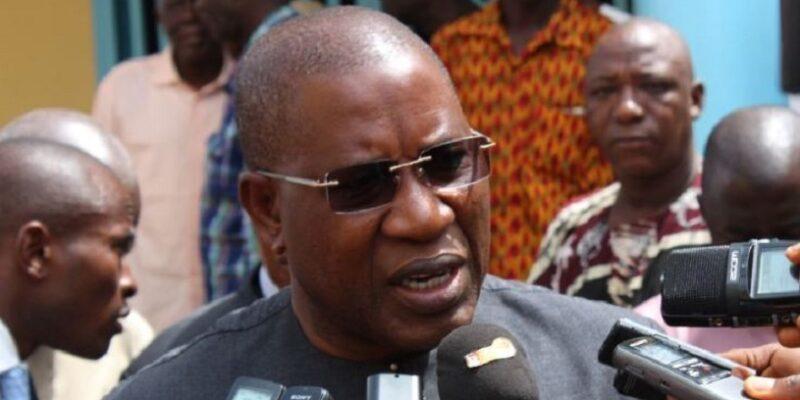 Le général Mathurin Bangoura, gouverneur de la ville de Conakry