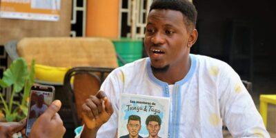 Mamadou Bailo Diallo, lauréat du concours sous-régional de bandes dessinées