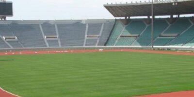 Dans l'enceinte du stade de Nongo (impage d'illustration)