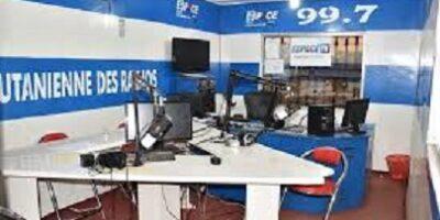 Dans les locaux de la radio Espace Foutah à Labé