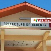 Dans les locaux du bloc administratif de la préfecture de Macenta