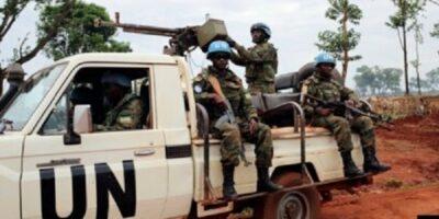 Des casques bleus de la Minusca en Centrafrique (image d'illustration)